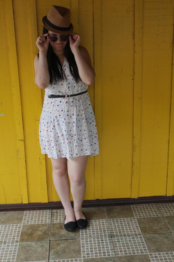 Look com vestido floridinho - Dica Amiga (1)