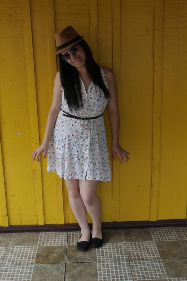 Look com vestido floridinho - Dica Amiga (2)