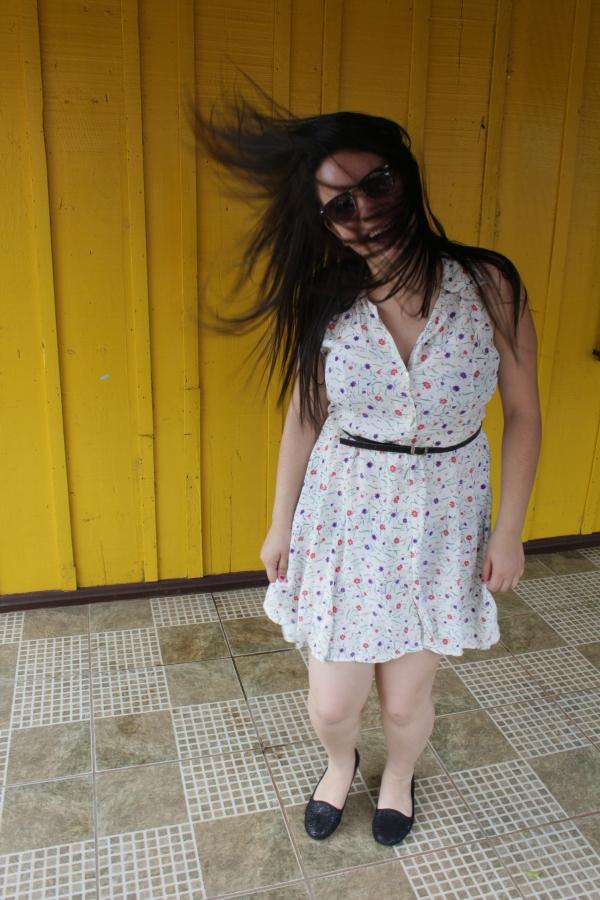 Look com vestido floridinho - Dica Amiga (3)